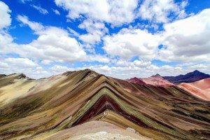 Rainbow Mountains Trek or Vinicunca Trek near Ausangate in Cusco, Peru