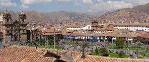cusco city peru plaza de armas