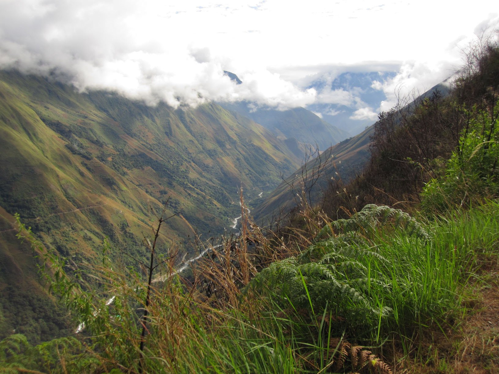 salkantay trail on the ancascocha trek