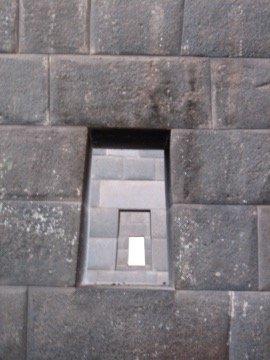 three windows at qoricancha santo domingo church on the cusco city walking tour