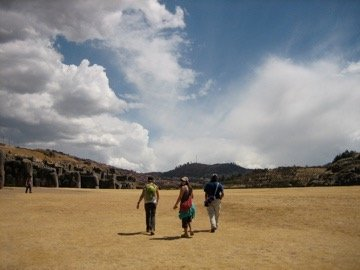 sacsayhuaman ruins on the cusco four ruins tour peru