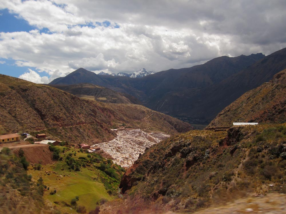 Salineras (salt mines), Sacred Valley, Cusco, Peru