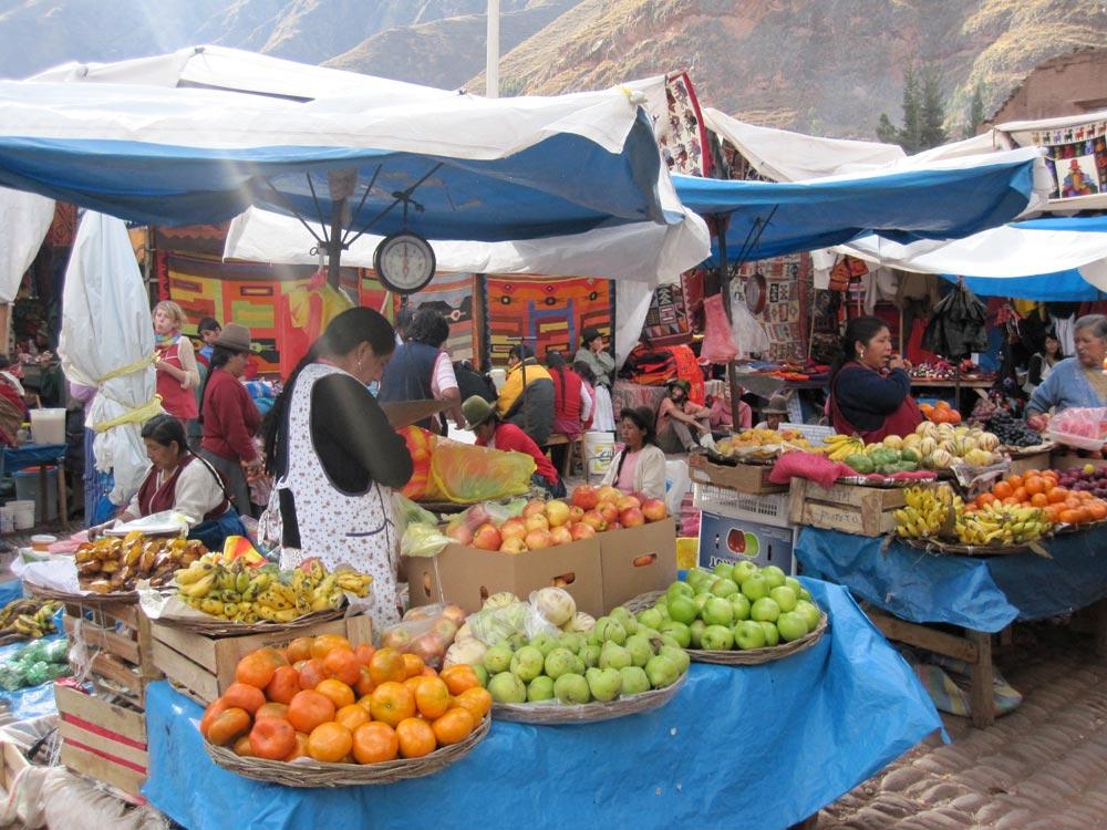 Pisac Market, Cusco, Peru