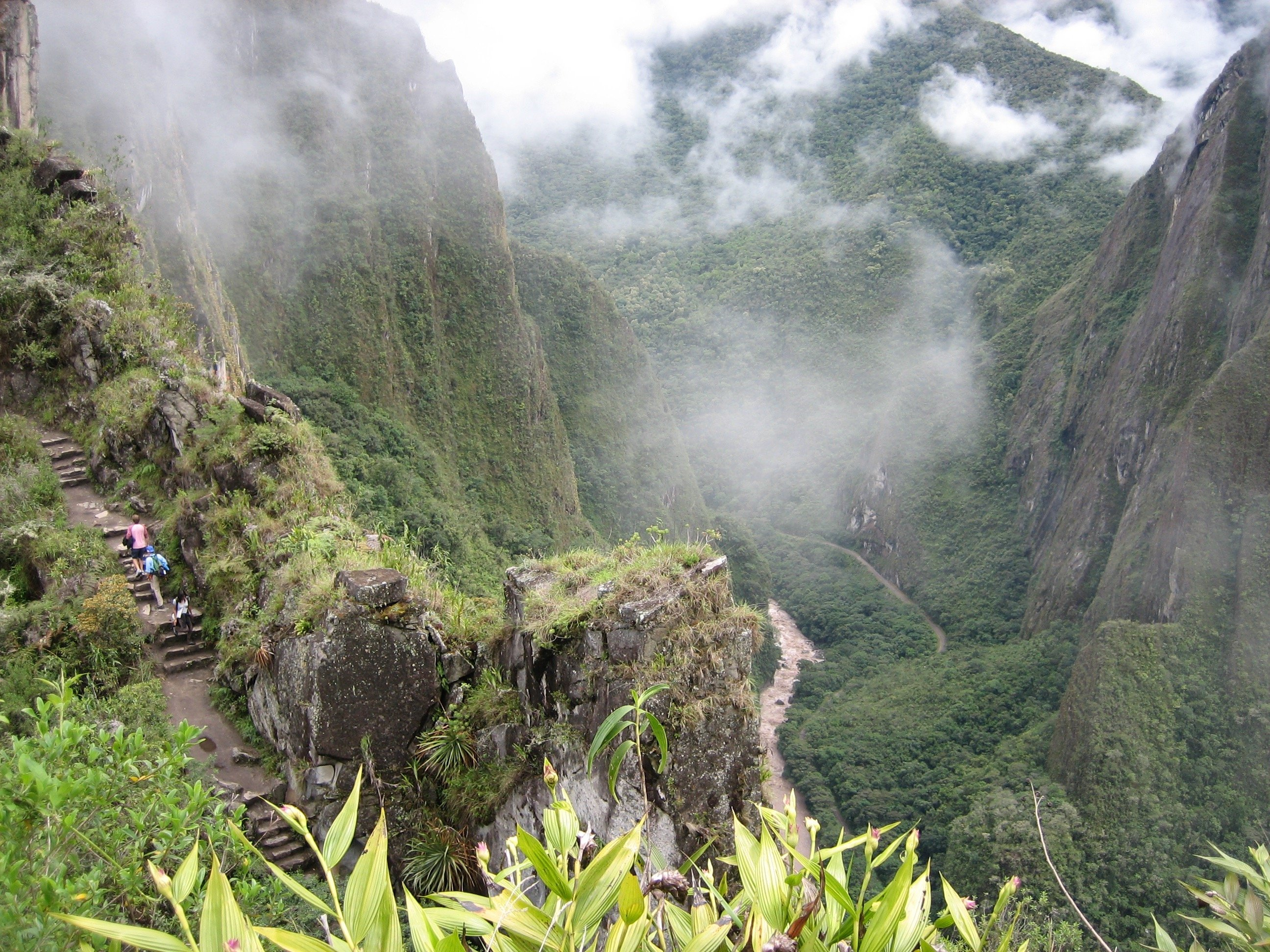 View of Machu Picchu Trail