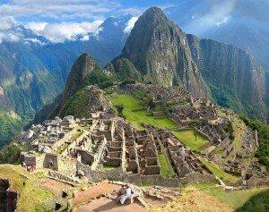 view of machu picchu on inca trail 2 day 1 night trek