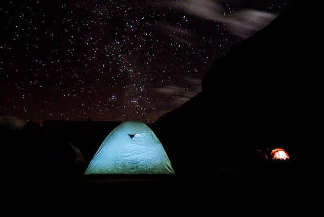 ancascocha trek camp site