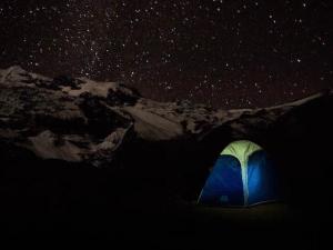 campsite ausangate mountain trek killa expeditions