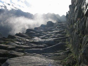 inca trail 2 day 1 night trek path