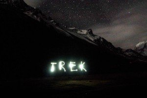 Trek in Night