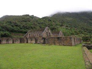 choquequirao ruin site on the choquequirao trek in cusco peru to machu picchu killa expeditions adventure trekking trips