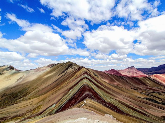 rainbow mountain trek in cusco peru ausangate