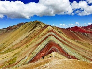Rainbow Trek in the Vincunca Mountains of Cusco, Peru