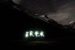 night trek in peru