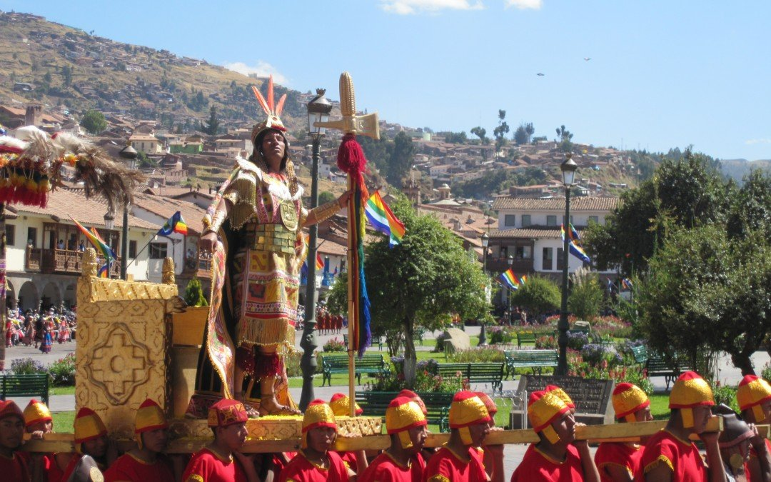 Inti Raymi or Festival of the Sun in Cusco Peru June 24