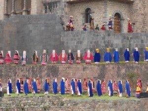 Inti Raymi or Festival of the Sun in Cusco Peru June 24