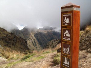 mountain views on the Classic 4 Day Inca Trail Trek cusco machu picchu peru killa expeditions