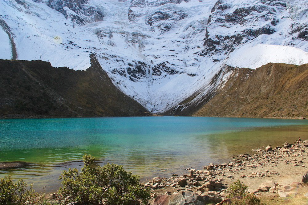 lake humantay one day hike salkantay trail trek cusco peru killa expeditions