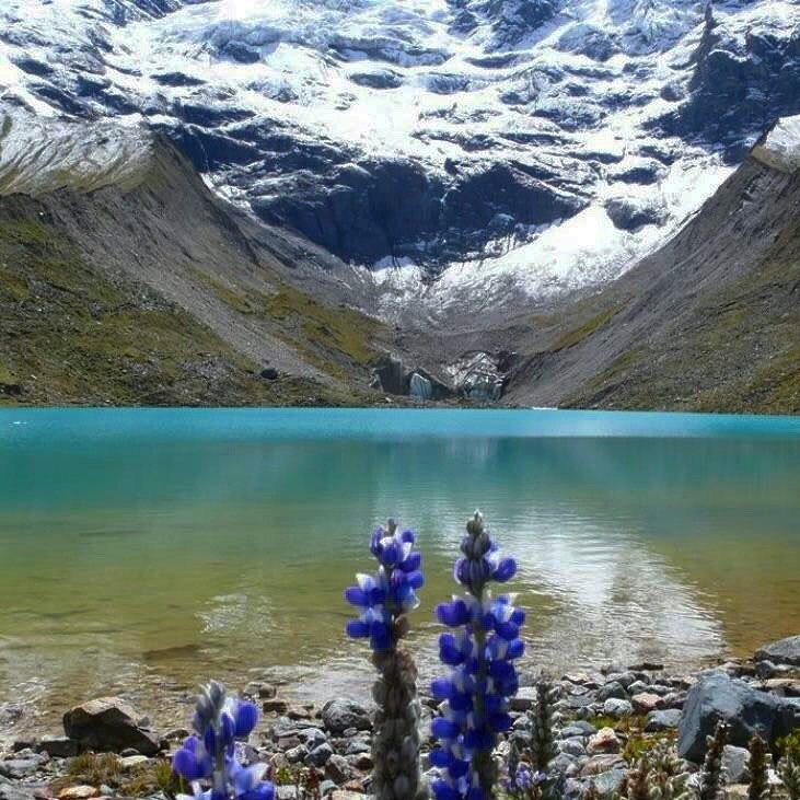 lake humanatay salkantay trek cusco peru adventure tours killa expeditions