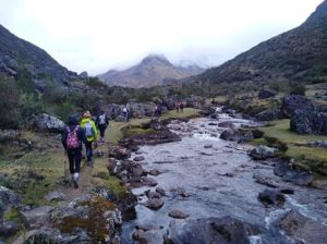 hiking lares valley trek cusco