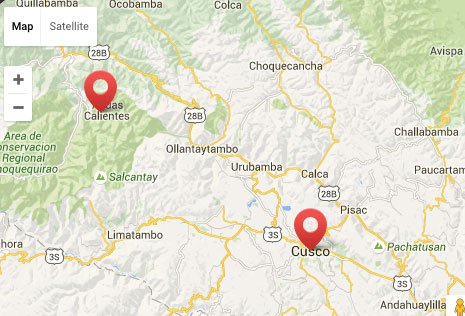 Map Cusco