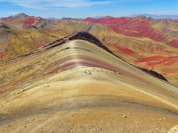 Rainbow mountain palcoyo day tour in cusco peru