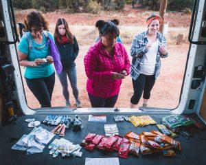 Mountain Chicks Hiking Snacks