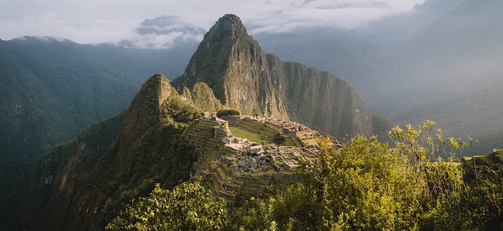 sunrise at machu picchu with killa expeditions
