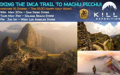 Hiking The Classic Inca Trail To Machu Picchu Talk At Adventure 16!