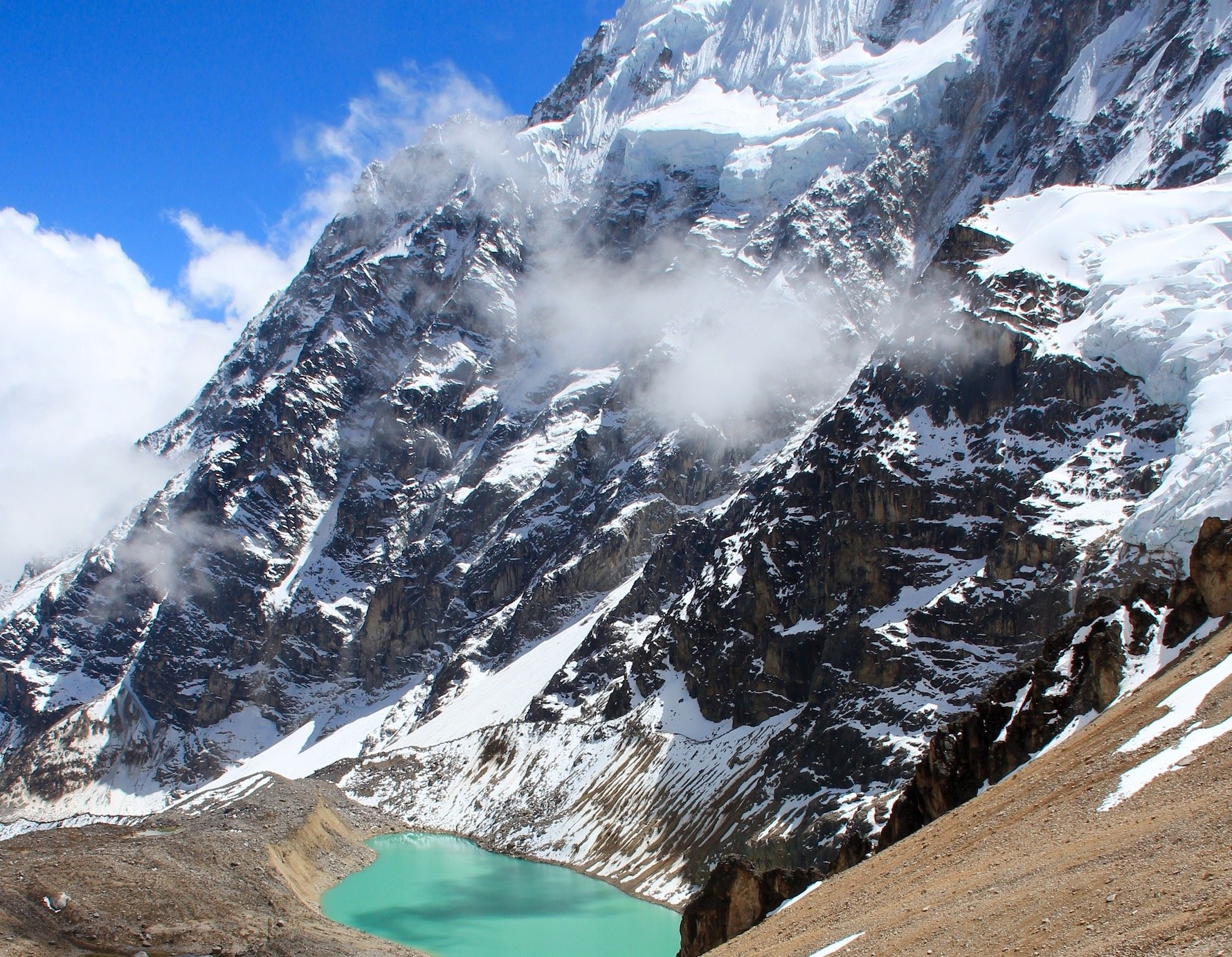 ancascocha trek with salkantay lake
