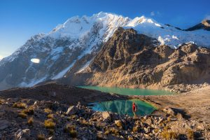 Ancascocha lake on ancascocha trek by nate luebbe for killa expeditions