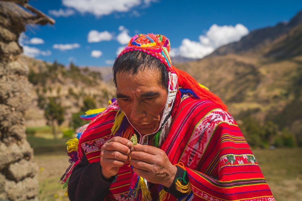 Willoc Alto Community charity event Killa Expeditions by Nate Luebbe shaman ceremony
